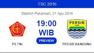 Prediksi PS TNI vs Persib Bandung - TSC 2016