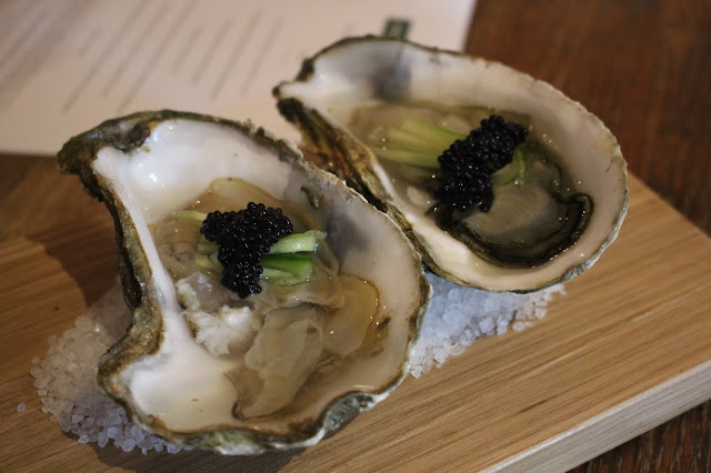 oysters Hare and Hounds Aberthin