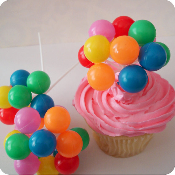 Balloon Designs Pictures Balloon Cupcake Toppers