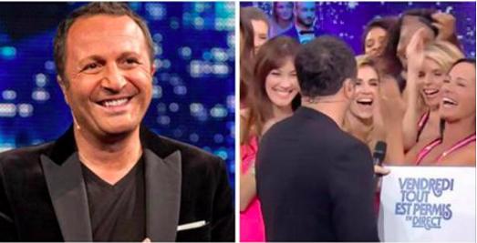 Arthur en couple avec une ex-Miss France, il l'embrasse en plein direct dans VTEP