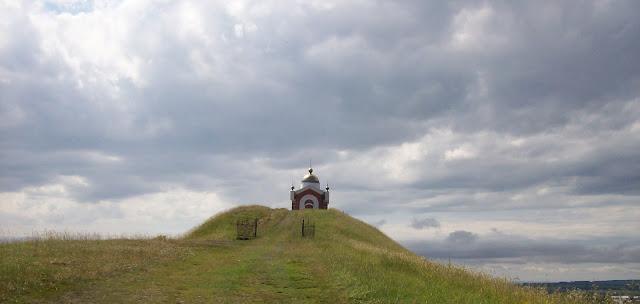 часовня на Никольской горе в посёлке Сурское Ульяновской области