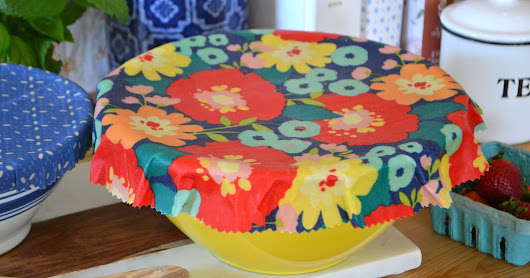 DIY Beeswax Bowl Covers
