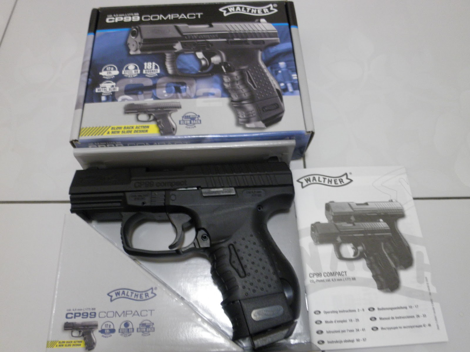 Airsoft Malaysia Museum: GBB -Gas Blow Back Pistols