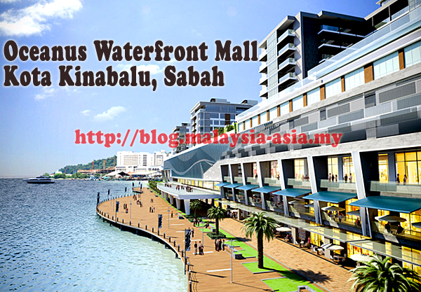 Kota Kinabalu Oceanus Waterfront Mall