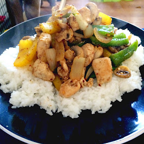salt and pepper chicken and rice