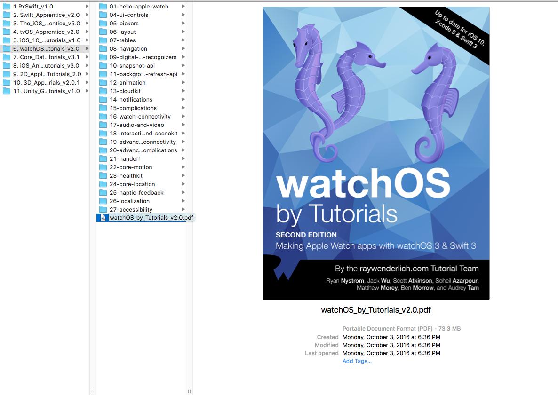Download Pdf Watchos By Tutorials Second Edition Making Apple Watch Apps  With Watchos 3 & Swift 3 Ray Wenderlich