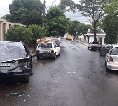 Duas pessoas ficam feridas em acidente em Apucarana