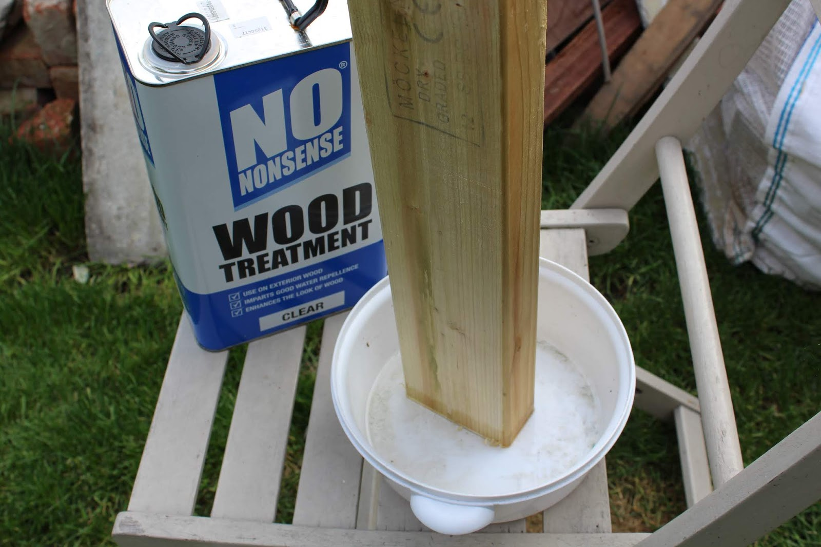 Screwfix No Nonsense Wood Treatment