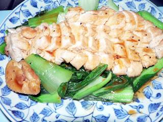 鶏の甘酢焼き完成