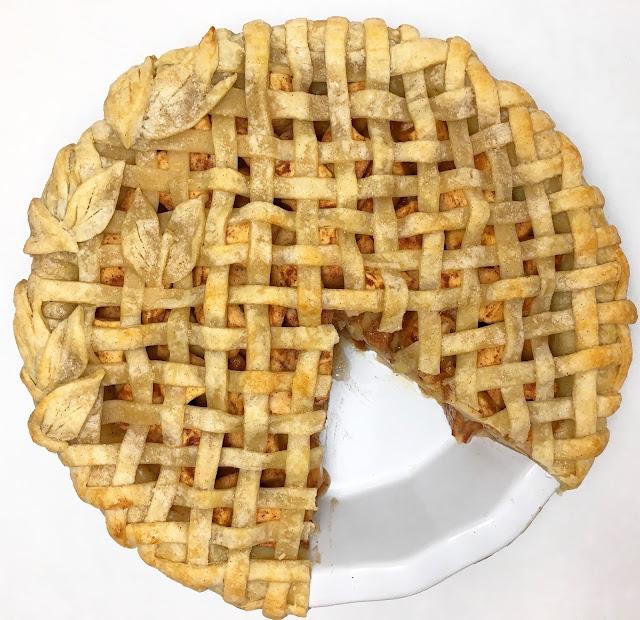 Cut Baked Apple Pie