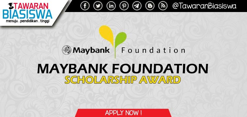 Permohonan Biasiswa Maybank Scholarship