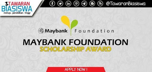 Permohonan Biasiswa Maybank Scholarship Programme 2020
