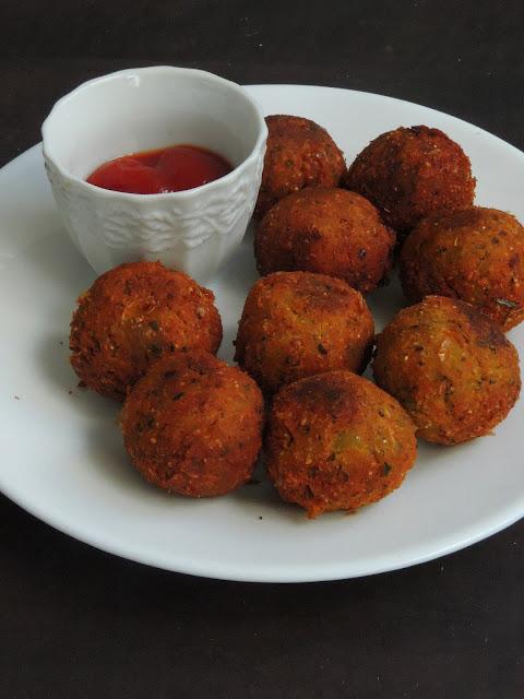 Sweet corn Kola Urundai, Sweet corn Balls
