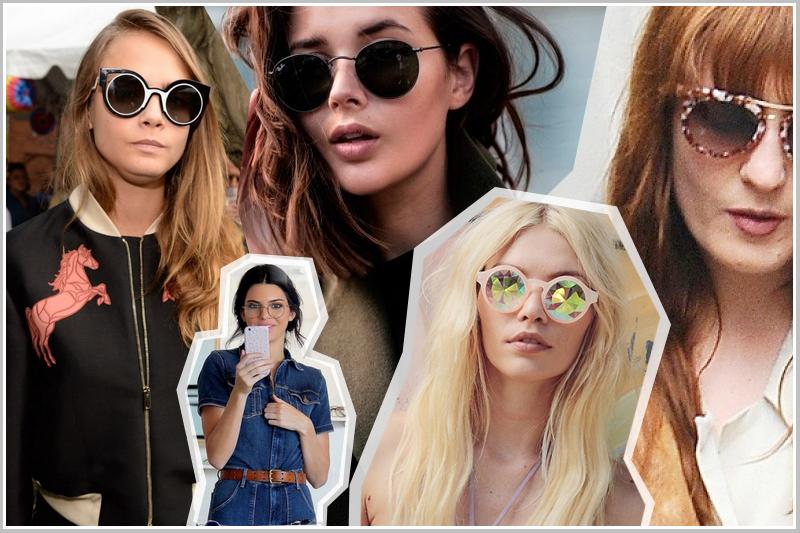 okulary retro, vintage okulary, okrągłe oprawki
