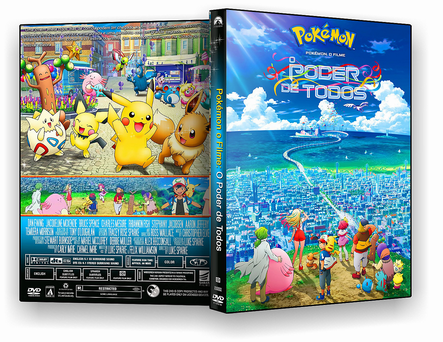CAPA DVD – Pokémon O Filme O Poder De Todos DVD-R