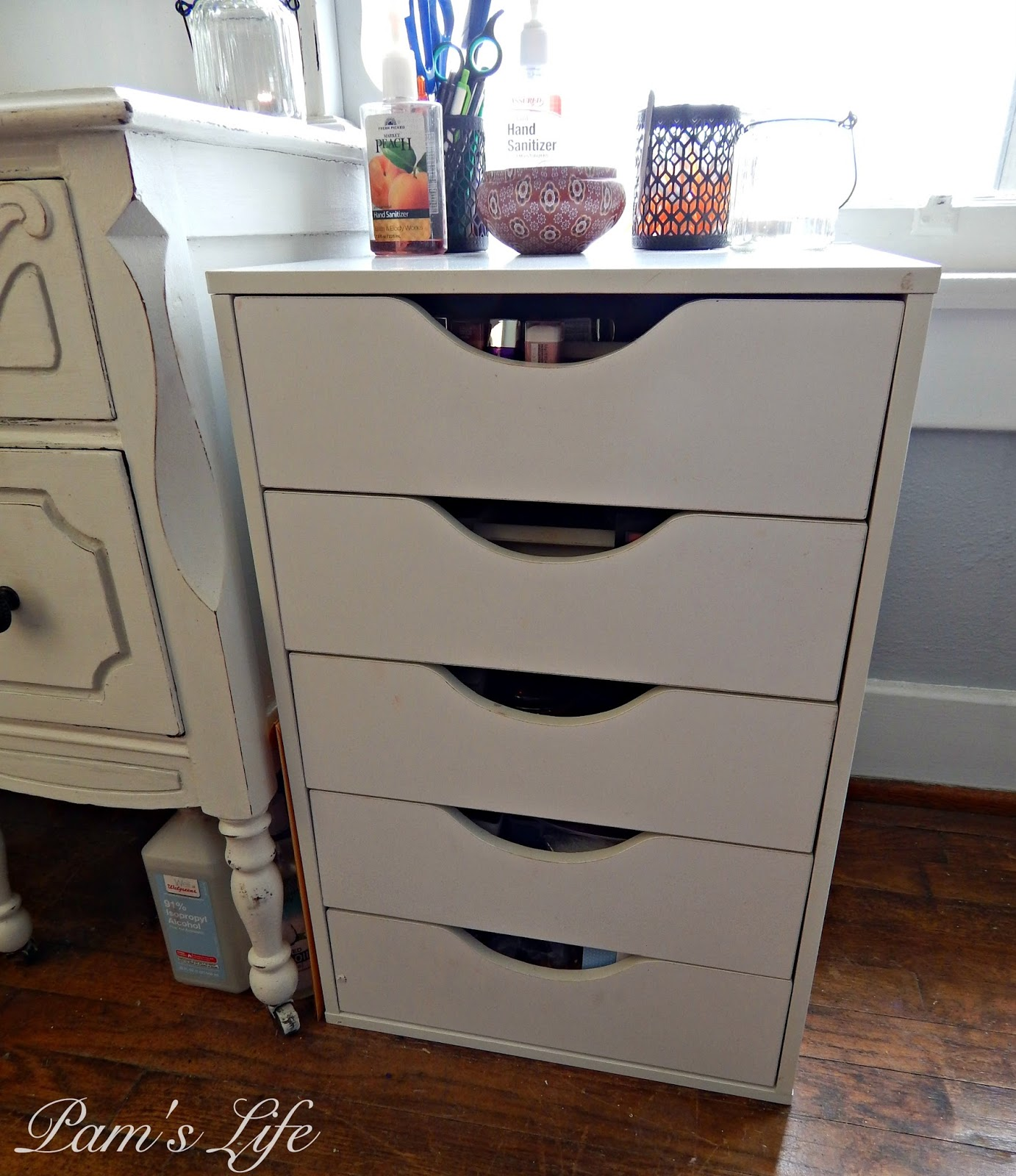 Pam's Life: Storage Solution: Dupe For The Alex Drawers