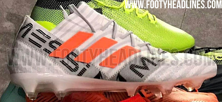 Higher Collar  Messi Trains in New Unreleased Blackout Adidas ... ce97854f2