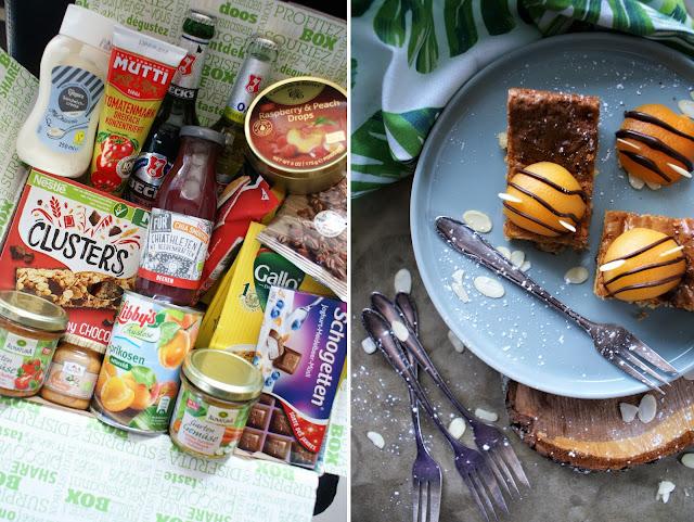 Märzbox Degustabox | Bienchen Blondies mit weißer Schokolade und Macadamia Nüssen