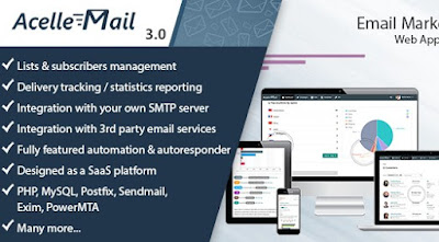 Acelle V3.0.1 Email Marketing Web Application