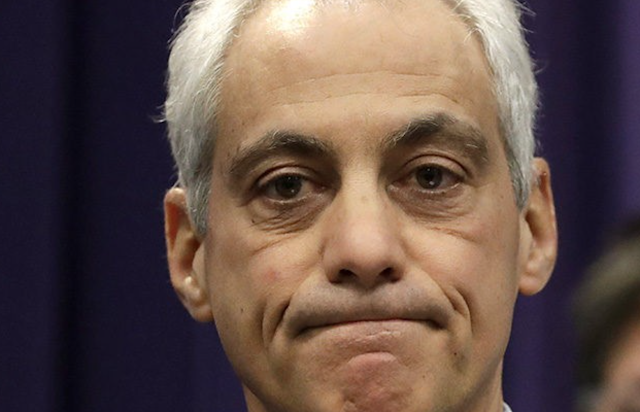 Left-Wing Protesters Demand Chicago Mayor Rahm Emanuel's Resignation Ahead of March