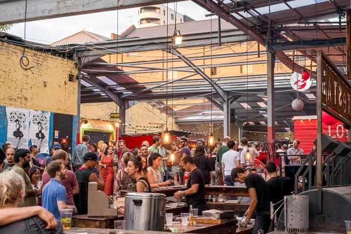 London pop ups dalston yard 2015 friday saturday for Food bar 2015