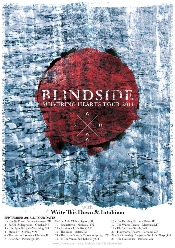 Tune Of The Day Blindside Our Love Saves Us