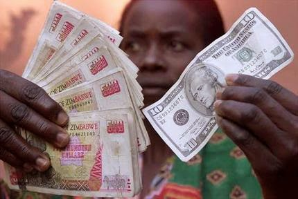 Itai Mushekwe Cologne President Robert Mugabe S Administration Is Reportedly Sittings On Wads Of A New Zimbabwe Currency To Be Backed By Gold Standard