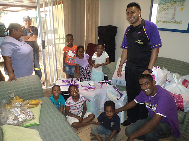 Hollywoodbets Lenz Station donated goods to the Lambano Sanctuary as part of Corporate Social Investment