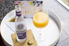 Lavender DRY Mimosa Cocktail Recipe