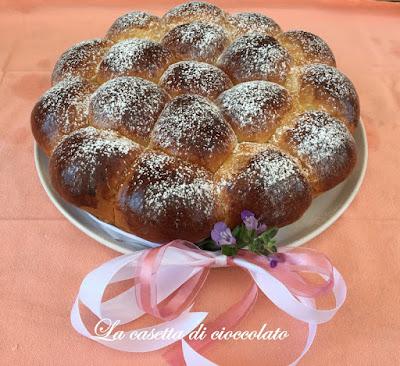 danubio dolce con ripieno di nutella