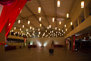 Hanging lights decor for weddings events kerala kochi karur