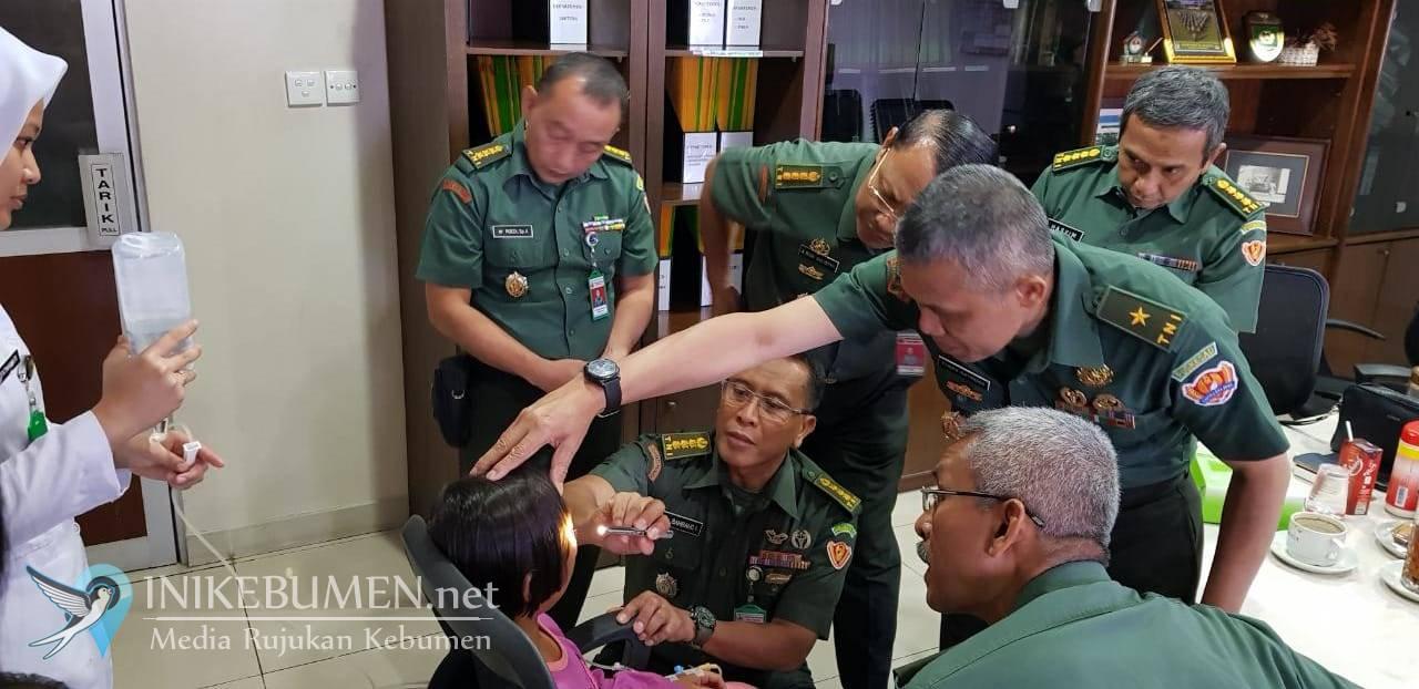 Dina, Penderita Tumor Asal Petanahan Menjalani Operasi di RSGS Jakarta