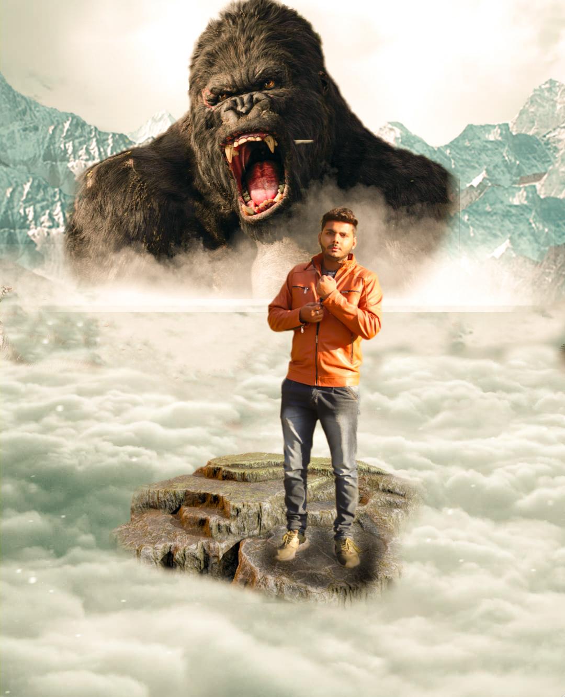 PicsArt Kong Kong png, background, images free Download