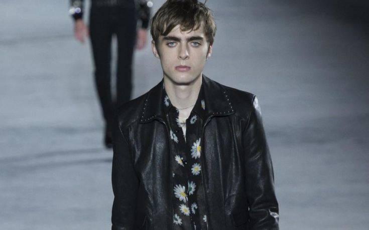 ee3e5086eaf4 Ο γιος του αρχηγού των Oasis το νέο πρόσωπο του οίκου Saint Laurent