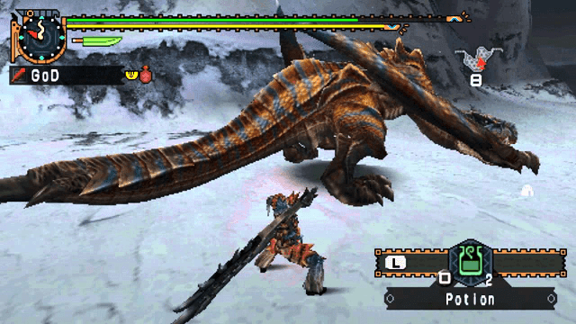 rasakan serunya berburu monster di monster hunter, taklukan rathalos!