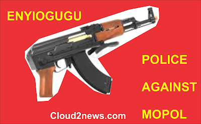 IMAGE FOR ENYIOGUGU, POLICE MEN ,MOPOL MEN, RETALIATE