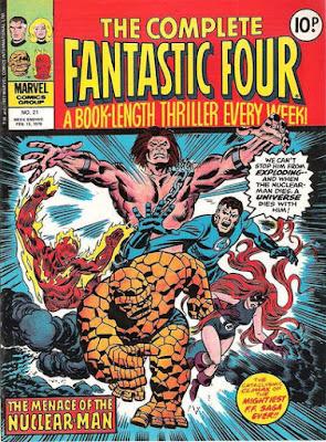 The Complete Fantastic Four #21, Mahkizmo