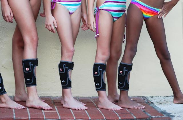 girls wear epipen