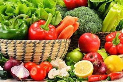 buah dan sayur