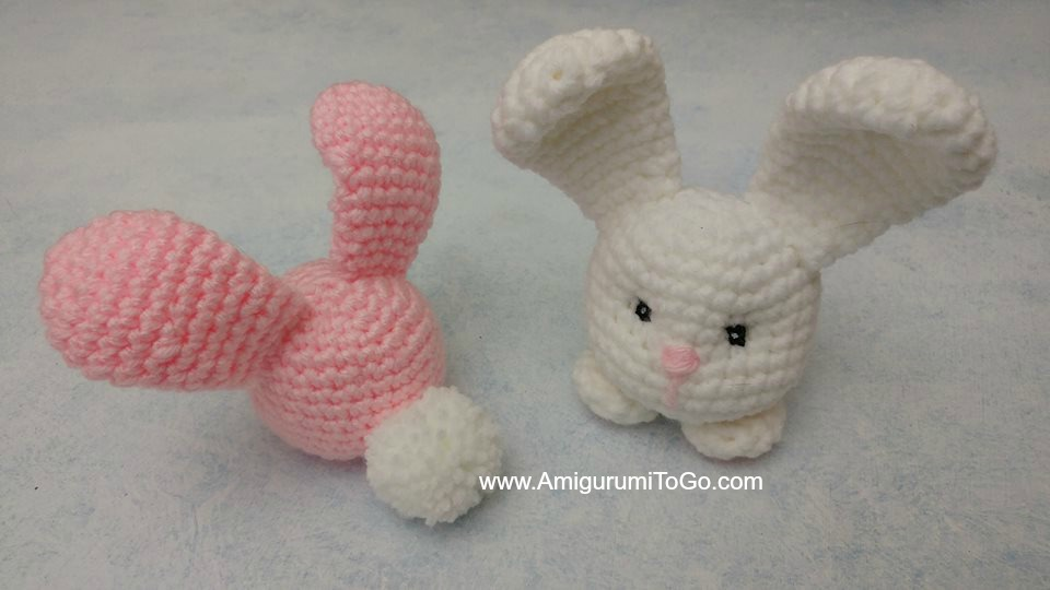 Pretty Bunny amigurumi in pink dress - Amigurumi Today | 540x960
