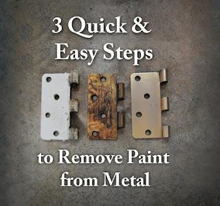 Remove Paint From Door Hinge Hardware