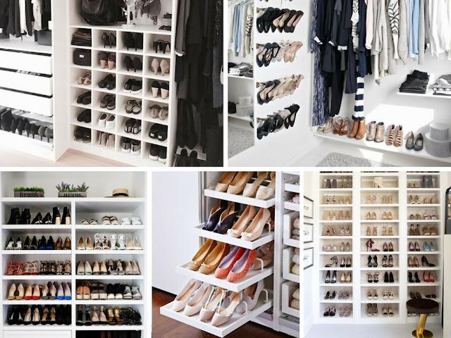 Expositores de sapatos