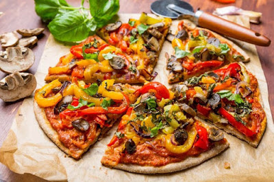 veggie pizza are not healthy as you think