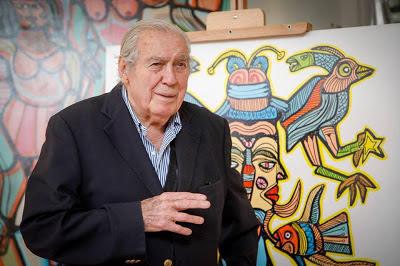 Páez Vilaró en el Museo de Artes de Trigre