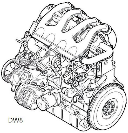 LDV Pilot van: Engine as it was