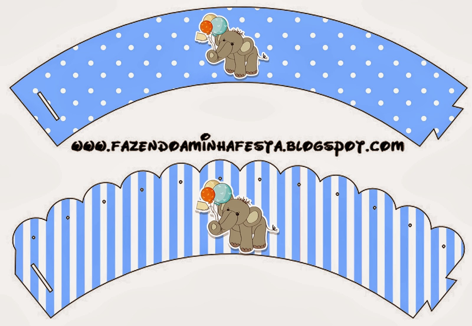 Imagenes De Free Printable Baby Shower Cupcake Wrappers