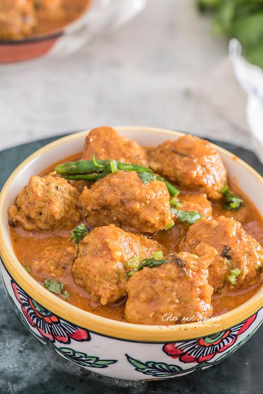 chicken kofta curry recipe