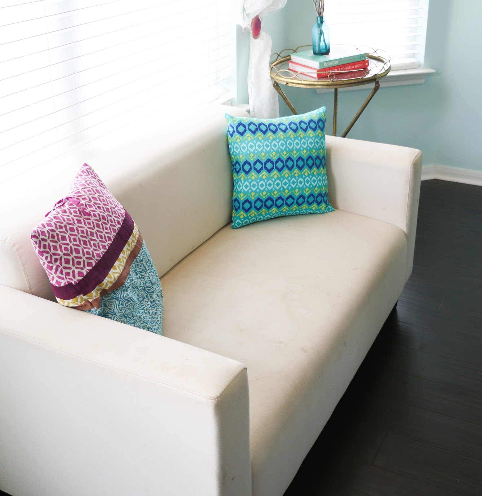 Little Couch For Bedroom Home Tour Tuesday The Master Bedroom A Kailo Chic Life