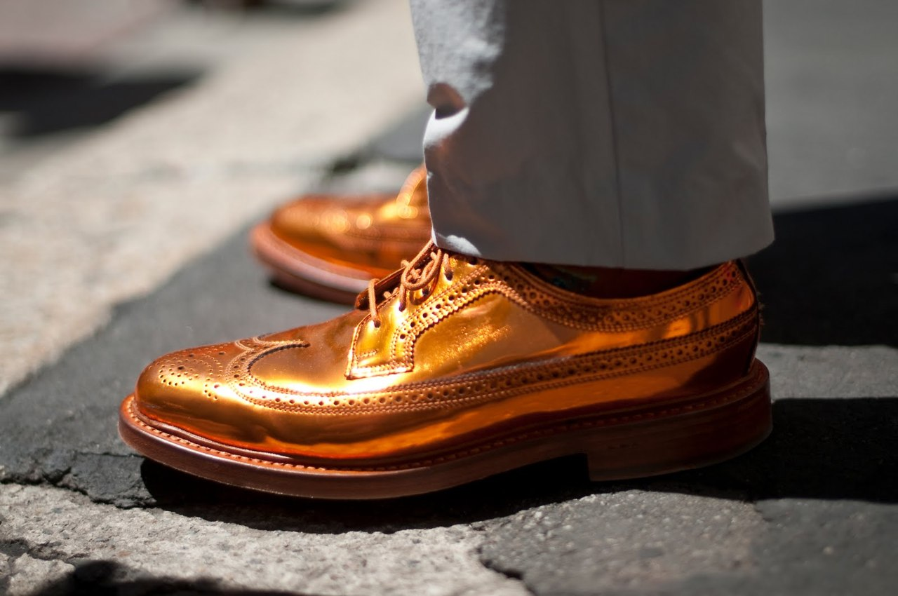 MY FASHION TRICKS: MEN'S SHOES (Style appears from shoes)