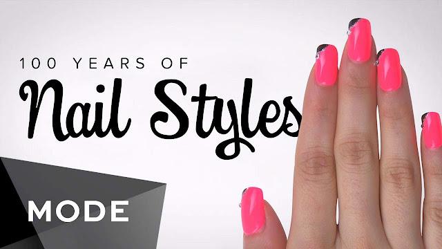 Video 100 anos de esmaltes, estilos imagem capa